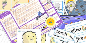 Light and Dark KS1 Lesson Plan Ideas and Resource Pack - ks1