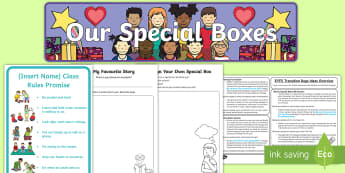 EYFS Transition Days Themed Activity Pack - New Class, Moving Classes, Nursery to Foundation, Classroom Displays, New Children