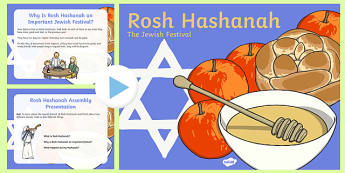 Rosh Hashanah Assembly Presentation - usa, america, rosh hashanah, assembly