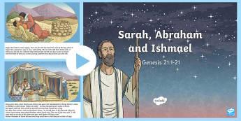 Sarah and Abraham PowerPoint - Northern Ireland Curriculum RE Reconciliation Abraham, sarah, Isaac, Ishmael, Hagar, Promise