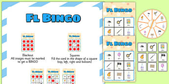 FL Spinner Bingo - fl, spinner bingo, spinner, bingo, activity, game, speech, language
