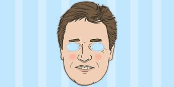 Nick Clegg Role Play Mask - nick, clegg, roleplay, mask, play