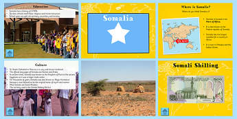 Somalia Information PowerPoint - somalia, information, powerpoint