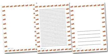 Tiger Portrait Page Borders- Portrait Page Borders - Page border, border, writing template, writing aid, writing frame, a4 border, template, templates, landscape