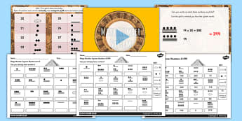 The Mayan Civilization Number System Lesson Teaching Pack - maya