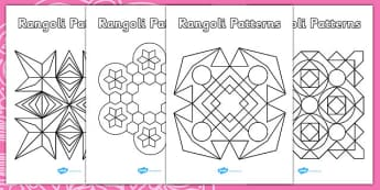 Rangoli Patterns Templates - rangoli, patterns, template, templates, pattern, rangoli, drawing, colouring, colour, art