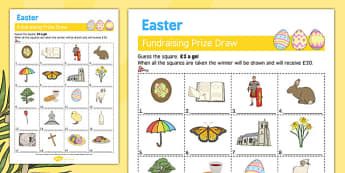 Elderly Care Easter Fundraising Sheet - Elderly, Reminiscence, Care Homes, Easter