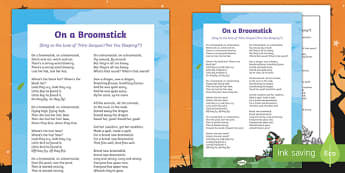 On a Broomstick Song