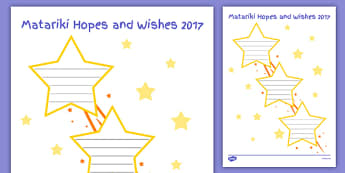 Matariki Hopes and Wishes - nz, new zealand, Matariki, goals, Maori, goal setting, hopes wishes