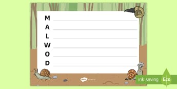 Cerdd Acrostig Malwod - malwod, malwoden, snail, snails, cerdd, acrostic, cerdd acrostig,Welsh
