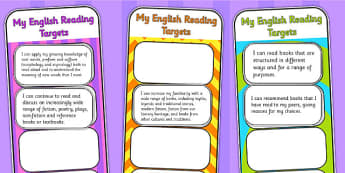 2014 Curriculum UKS2 Years 5 and 6 Reading Assessment Bookmarks