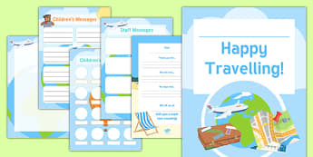 Going Travelling Activity Booklet