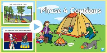 Phase 4 Captions  PowerPoint - Phase 4 Captions Powerpoint - phase43, phase three, captions powerpoint, powerpoint, phase 4 powerpo