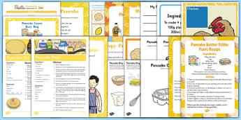 Childminder Pancake Day Resource Pack - Shrove Tuesday, childminder, pancake day
