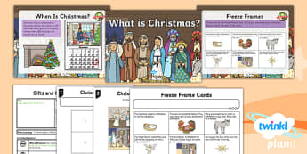 PlanIt - RE Year 1 - Gifts and Giving Lesson 1: What is Christmas? Lesson Pack - Christmas
