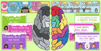 Developing Growth Mindset Display Pack Polish Translation - polish, Growth, Mindset, Displays