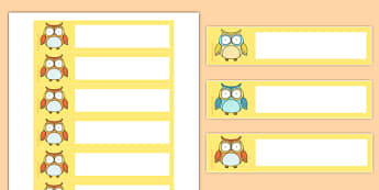 Superb Owl Themed Gratnells Tray Labels - superb owl, gratnells, tray labels, tray, labels, display, super bowl