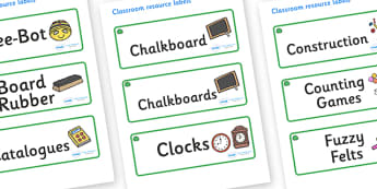 Jade Themed Editable Additional Classroom Resource Labels - Themed Label template, Resource Label, Name Labels, Editable Labels, Drawer Labels, KS1 Labels, Foundation Labels, Foundation Stage Labels, Teaching Labels, Resource Labels, Tray Labels, Pri