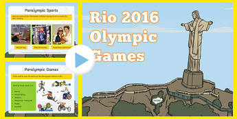 SEN Rio Olympics 2016 Information PowerPoint