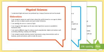 Australian Curriculum Science Understandings Year 1 Speech Bubbles Assessment Pack - Australian Curriculum, science understandings, WALT, TIB, grade one,Australia