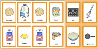 Pancake Day Pairs Matching Game - activity, activities, match