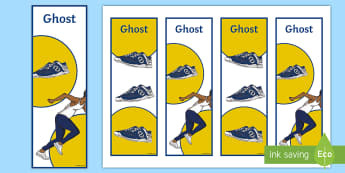 Years 5 and 6 Chapter Chat Bookmarks To Support Teaching On Ghost - chapter chat, years 5 & 6, literacy, reading, ghost, jason reynolds