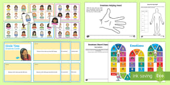 Mindful Me: Emotions  Activity Pack - Mindfulness, resilience,