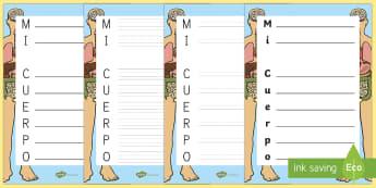 Acróstico: Mi cuerpo - Mi cuerpo, proyecto, conocimiento de mí mismo, poesia, escritura, escribir,Spanish
