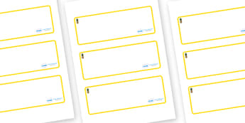 Pineapple Themed Editable Drawer-Peg-Name Labels (Blank) - Themed Classroom Label Templates, Resource Labels, Name Labels, Editable Labels, Drawer Labels, Coat Peg Labels, Peg Label, KS1 Labels, Foundation Labels, Foundation Stage Labels, Teaching La