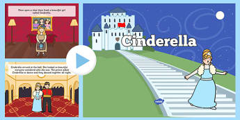 Cinderella Story PowerPoint - cinderella story, cinderella story powerpoint, cinderella powerpoint, cinderella story sequencing, story powerpoint