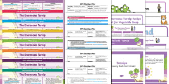 EYFS The Enormous Turnip Bumper Planning Pack - The Enormous Turnip, The Gigantic Turnip, traditional tales, fairy tales, early years planning, cont