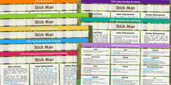 Lesson Plan and Enhancement Ideas to Support Teaching on Stick Man - stick man, lesson plan, lesson