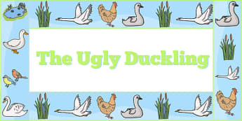 Ugly Duckling Display Borders - ugly duckling, display, borders