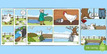 Le vilain petit canard Histoire à remettre dans l'ordre-French