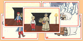 The Mitten Short Story Sequencing - the mitten, story, short story
