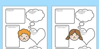Bullying Worksheets Arabic Translation - arabic, bullying, worksheets, bully, worksheet