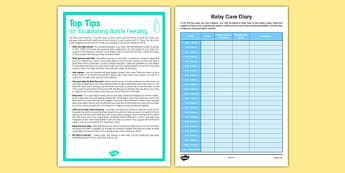 Top Tips for Establishing Bottle Feeding - Baby, feeding, newborn, bottle, milk