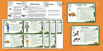 Halloween Yoga Story - halloween, yoga story, yoga, story, social story