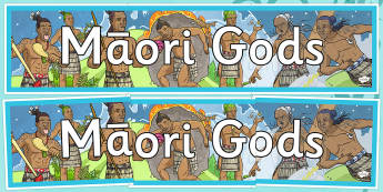 Maori Gods Display Banner - nz, new zealand, Maori Gods, display banner, display, banner