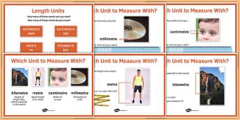 Maths Intervention Length Unit Posters - SEN, special needs, intervention, maths, measure, length