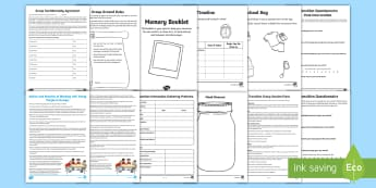 Transition Group Session Resource Pack - Young People & Families Case File Recording, referral, chronology, contents page,buddy system, safeg