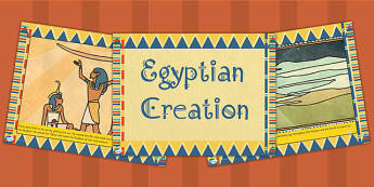 Ancient Egyptian Creation Story PowerPoint - ancient egypt, egypt