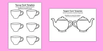 Teapot Mother's Day Card Blank Polish Translation - polish, mothers day, card, blank, teapot