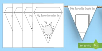 All About Me Display Bunting - Transition, Back to School, new class activity, Back to School Display, All about Me bunting, Back t