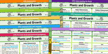 EYFS Plants and Growth Lesson Plan and Enhancement Ideas - pack