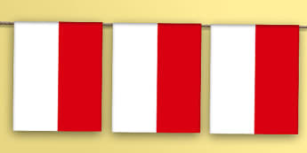 Indonesia Flag Bunting - indonesia flag, indonesia, flag, bunting, display bunting, display