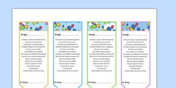 Semne de carte cu poezia de sfârșit de an - Recompense - Semn de cartet de sfârșit de an - sfârșit de an, sfarsit de scoala, tranzitie, tranziție, an scolar, speranțe, proiecte, noul an lectiv, edidable, semn de carte, romanian, materiale, materiale