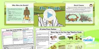 PlanIt - History UKS2 - Stone Age to the Iron Age Lesson 6: The Druids Lesson Pack