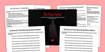 The Fear Factor Lesson Pack - the fear factor, lesson, pack, lesson pack