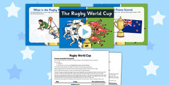 Rugby World Cup Assembly PowerPoint Pack - rugby world cup, assembly